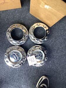 4 Set Ford F250 F350 5C34-1A096-PD Factory OEM Wheel Center Rim Cap Cover 8 Lug