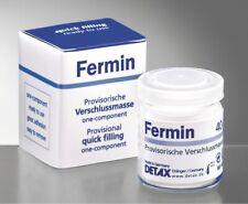 Fermin 40 g Packung weißer Zahnzement Plomben erneuern gute Verschlußmasse