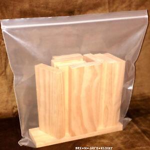 "Lot of 18""x20"" JUMBO Reclosable Plastic Storage Ziplock Zip Bags Heavy Duty XXL"