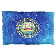 New Hampshire Vintage Distressed State Flag Pillow Case