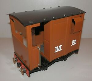 🌎 O GAUGE MAMOD RW3 BRAKE VAN WAGON FOR MODEL LIVE STEAM LOCO ENGINE (LOT 1)