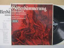SXL 6220 WBG- Wagner Gotterdammerung Highlights VPO SOLTI/NILSSON LP EX++