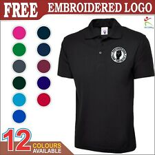 Northern Soul Keep The Faith Embroidered Badge Men Pullover Polo Shirt XS-6XL