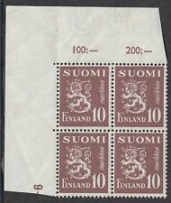 Mint Never Hinged/MNH Block Finland Stamps