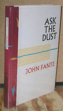 Ask the Dust-Signed by John Fante and Charles Bukowski-Numbered 1st Ed.-1980