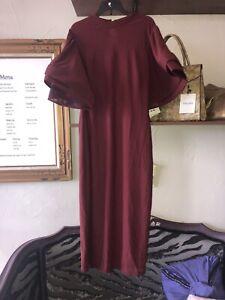Cq By Cq Burgandy Bell Sleeve Dress Nordstrom Sz M