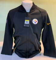 Nike NFL Steelers Men's Coach Sideline Jacket- You pick size.  New with tags.