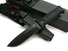 Couteau Tactical/Survival Gerber Strongarm Black Acier 420HC Manche USA G1038