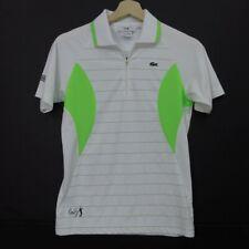LACOSTE ANDY RODDICK  Womens Tennis Polo SHIRT Size 14 Short Sleeve