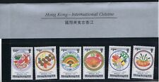 Hong Kong 1990 International Cuisine - Complete Set Of Six Stamps - MUH