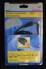 Hama 1.8M USB lead  USB A to USB Mini B  (12133)