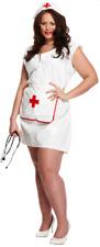 Ladies Sexy Nurse Uniform Role Play Hen Party Fancy Dress Costume Plus Size