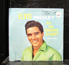 "Elvis Presley - Are You Lonesome To-Night? / I Gotta Know VG+ 7"" US 1960 47-7810"