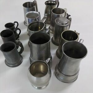 Collection Of Tankards 13.