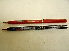 Set of 2 Vintage HONG KONG Souvenir Ink Pens