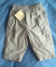 Boys French Designer Miniman Green Microfibre Trousers Age 12m RRP £29.99 BNWT