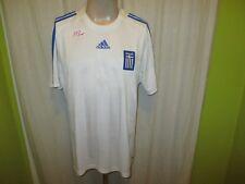 Griechenland Nr.313 Adidas Auswärts Europameisterschaft Trikot 2008 Gr.L