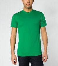 BN American Apparel 50 / 50 Crewneck T-Shirt Medium Green Made in U.S.A.