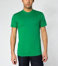 BN American Apparel 50 / 50 Crewneck T-Shirt Medium Green