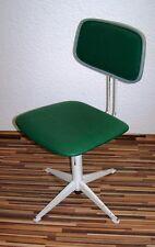 Schöner alter Holz Bürostuhl, Art Deco Drehstuhl Loft Design Werkstattstuhl