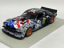 1/18  Ford Mustang Hoonigan Ken Brack Monster US Flag Resin Hand Build Model
