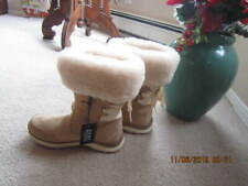 New UGG Womens Size 6 Brown Ingalls Waterproof Winter Wool Blend Boots 1095140