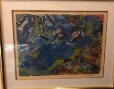 "Rare Theo Tobiasse Color Lithograph #52 (A)32""x26"""