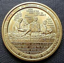1983 Wildwood Alberta $2 Trade Token - Bingo - Brass - UNC
