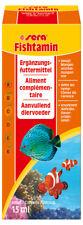 Sera Fishtamin Multivitamínicos para un resistente sistema inmunitario
