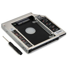 SATA to SATA 2nd HDD HD HARD DRIVE 12.7mm Universal Caddy CD/DVD-ROM Optical Bay