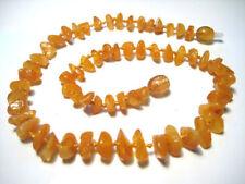 Collane e pendagli di bigiotteria giallo ad ambra