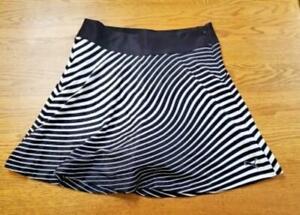 Puma Womens 2 Dry Cell Motion Skirt Skort Black White TC3417 FAST SHIP! F24