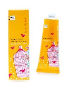 love & toast mandarin tea handcreme 1.25 oz tube