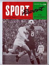 Sport Report Serie A Band 4 VFB Stuttgart 60er Jahre