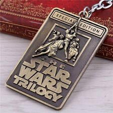 Julie Star Wars Key Chains Trilogy Letters Key ring  Vintage Special Edi Gold