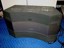 BLACK BOSE ACOUSTIC WAVE MUSIC SYSTEM CD 3000 AM/FM RADIO - NO REMOTE