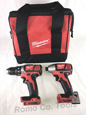 "Milwaukee 1/4"" impact, Drill Driver & ToolBag 2656-20 & 2606-20 (New From Kit)"
