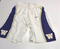 Game Worn Team Used Washington Huskies Basketball Shorts Nike Size 44