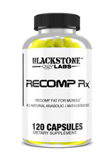 Recomp Rx by BLACKSTONE LABS - Build muscle & burn fat - 120 caps -FREE SHIPPING