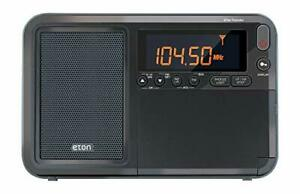 Eton Elite Traveler AM/FM/LW/Shortwave Radio with RDS & Custom Leather Carry ...