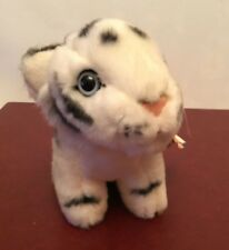 DOWMAN Leosco Collection  Small White Tiger Cub Soft Toy - Exc Cond
