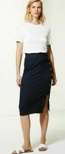 EX M&S LADIES RIBBED JERSEY PENCIL SKIRT VARIOUS COLOURS/SIZES