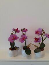 Lumida Flora leuchtende Blumen - Orchideen-Set - 3 Stück - lila