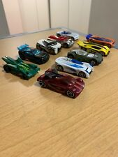 Lot Of 10 Used Hot Wheels Concept Cars