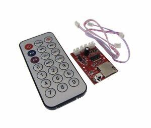 Micro SD (TF) Card  MP3 WAV Player Board w/ Remote control