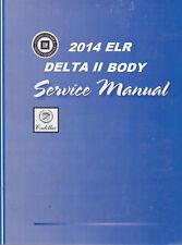 2014 Cadillac Elr Service Repair Workshop Shop Manual-4 Volume Book Set Gmp14Elr(Fits: Cadillac)