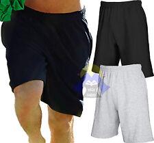 Pantaloncini Corti Uomo FRUIT OF THE LOOM Shorts Nuovi Pantaloni Felpati LEGGERI