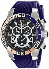Mulco MW174197044 Fondo wheel 46MM Women's Chronograph Blue Rubber Watch