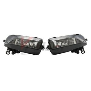 12-17 For Audi A5 Clear Lens Pair Bumper Fog Light Lamp DOT OE Replacement Bulbs