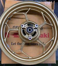 KAWASAKI 41073-0652-36C, Z300/ NINJA 300 REAR WHEEL, GOLD